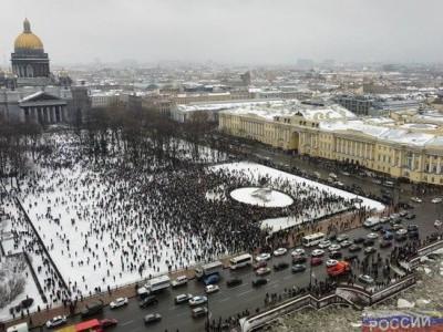 Навальные МИТИНГИ в России